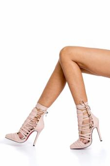 stiletto beth light pink