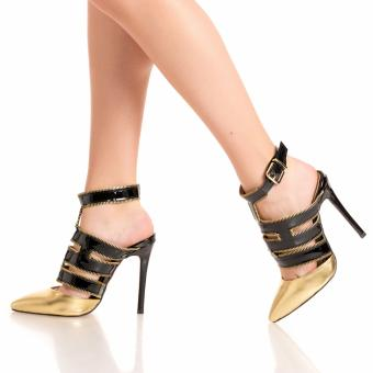 Stiletto jessie gold