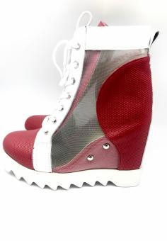 botine daria red