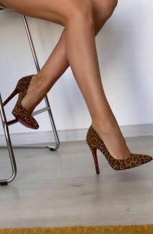Stilleto Animal Print
