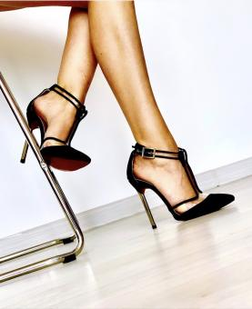 STILETTO CHARLOTTE BLACK