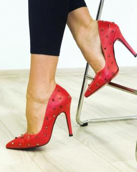 STILETTO KELLY RED