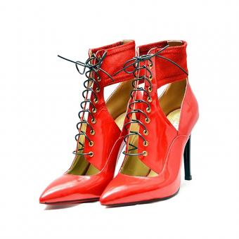 Botine Belle Red