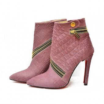 Botine Rose Purple