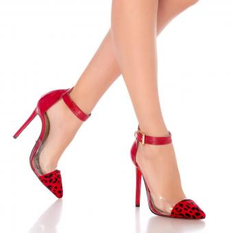 Stiletto Lesley Red