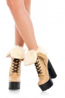 Raquel Fur Light Beige