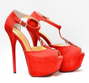 SANDALE GIA RED