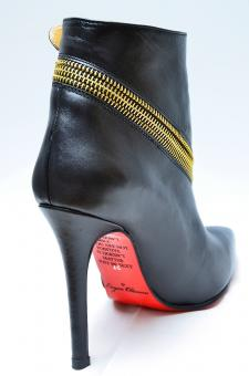 BOTINE BLACK ROSE